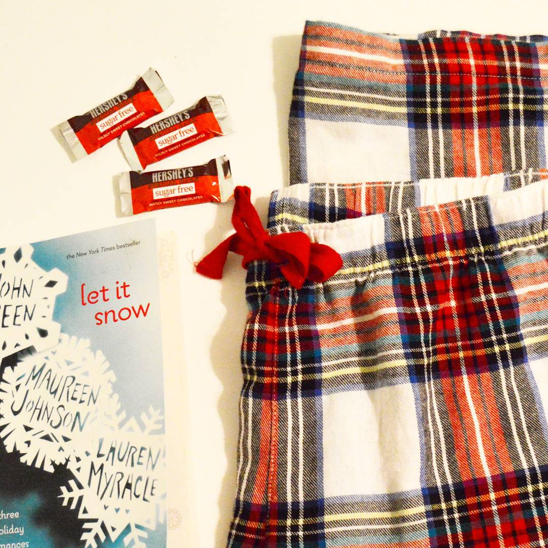 The  to a cozy night in // Today on the blog is a review of the book Let It Snow: MaggieRoyce.com!