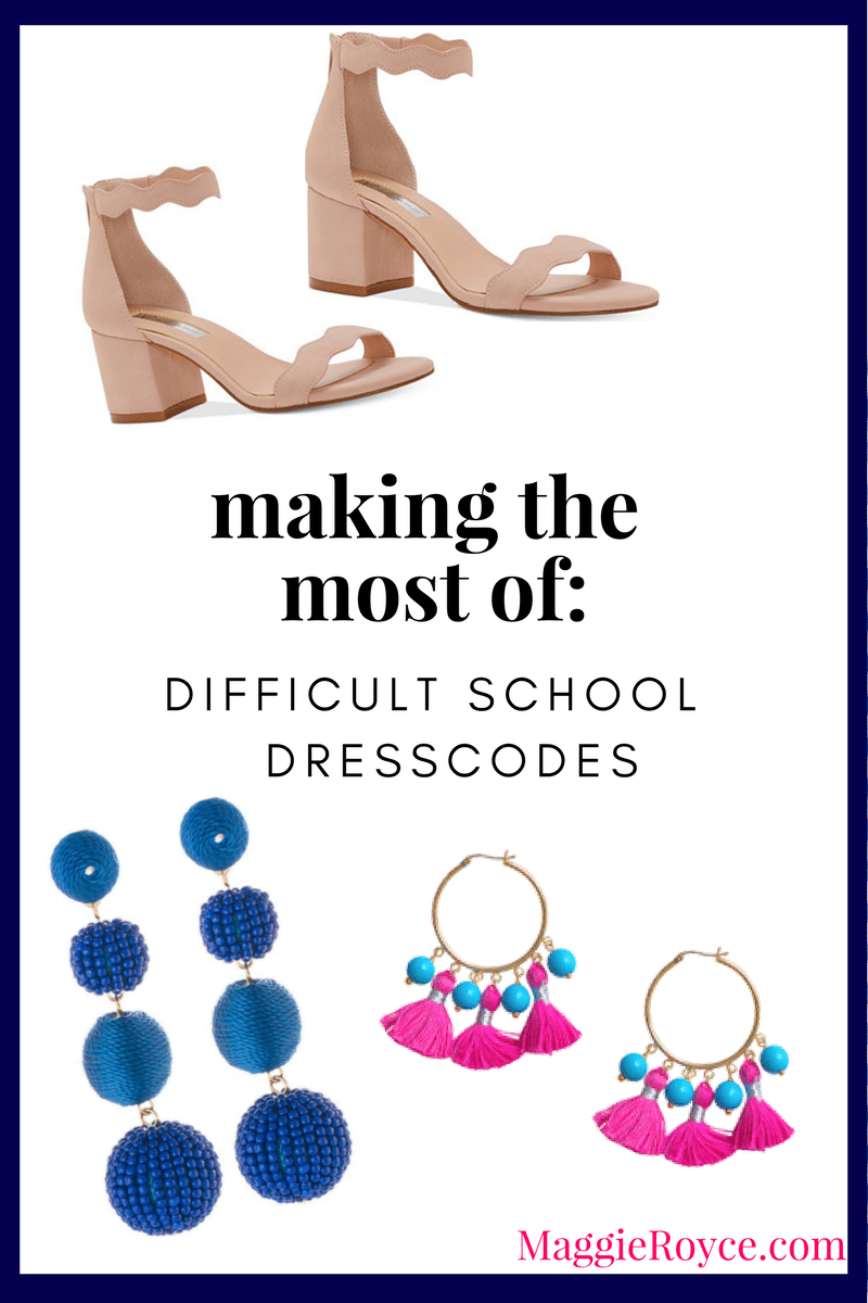How To: Difficult School Dress-Codes